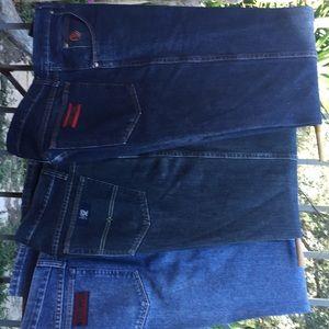 Men's Wrangler 20 X Blue Jeans